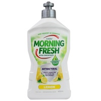 MORNING FRESH 400mL DISHWASHING LIQUID ANTIBACTERIAL CONCENTRATE LEMON