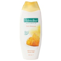 PALMOLIVE 500mL NATURALS SHOWER MILK RICH MOISTURE MILK & HONEY