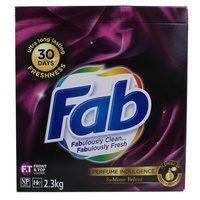 FAB 2.3KG LAUNDRY POWDER FRONT & TOP LOADER SUBLIME VELVET